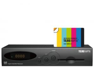 EVO-01+ карта доступа «ТелекартаТВ»