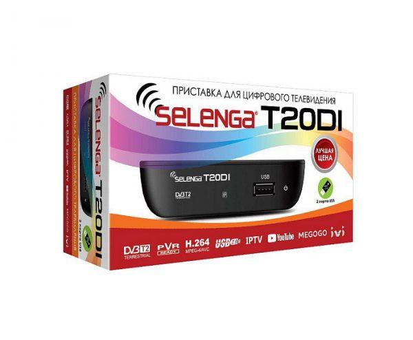 Цифровой эфирный приёмник Selenga T20DI