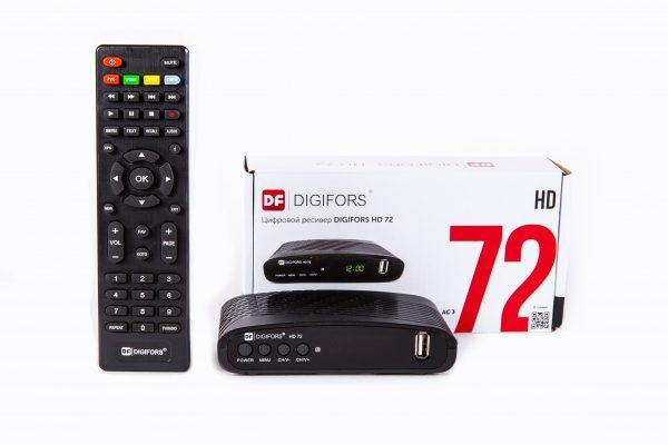 Цифровой эфирный приёмник Digifors HD72 (Поддержка AC3)